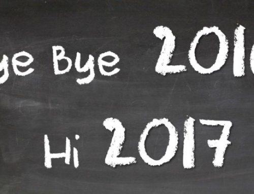 Bye bye 2016!